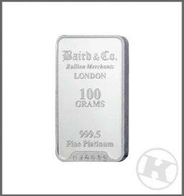 100g Platinum Bar