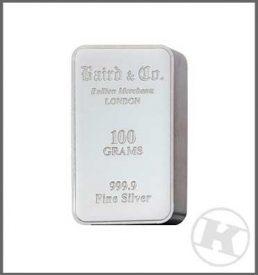 100G Silver Bar