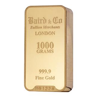 1 Kilo Gold Bar Buy Online Kk Bullion