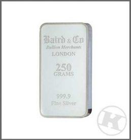 250g Silver Bar