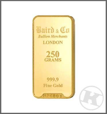 Buy 250 Gram Gold Bar Buy Online Kk Bullion