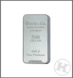500g Platinum Bar