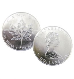 1 oz Silver Maple Leaf Coin
