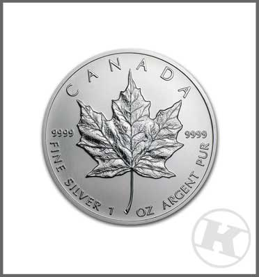 Maple Leaf Silver Coin 1 ounce