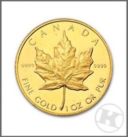 Maple 1oz Gold Coin