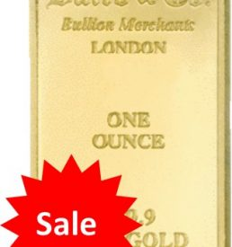 Gold bar sale