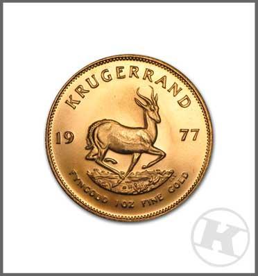 Krugerrand Gold Coin 1 ounce