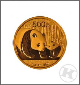 Chinese Panda Gold Coin 1 ounce