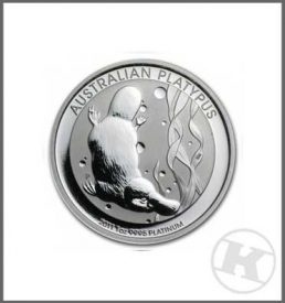 1 oz Platinum Coin
