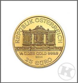Austrian Philharmonic Gold Coin 1 ounce