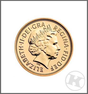 2015 Sovereign Gold Coin